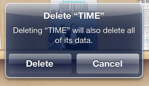 Deleting Time Magazine